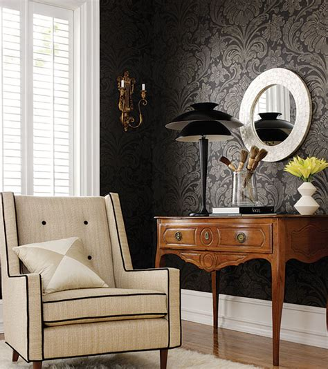 home interior wallpaper paint vs wallpaper home interior design ideas
