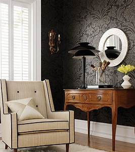 Paint vs Wallpaper Home Interior Design Ideas
