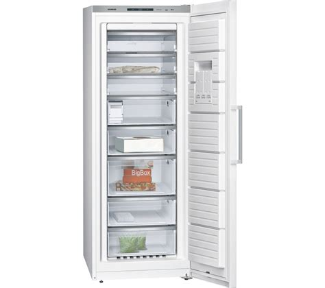buy siemens iq500 gs58naw41 tall freezer white free