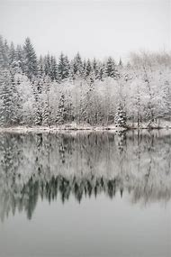 Beautiful Winter Lakes Frozen