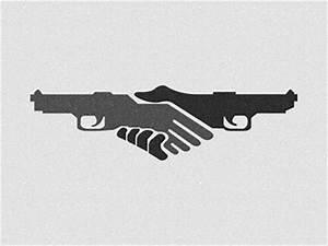 Gun Handshake | Logos | Pinterest | Web design gallery ...