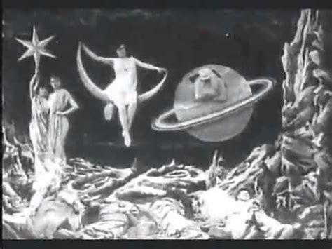 george melies aya yolculuk ilk bilimkurgu filmi aya yolculuk 1902 youtube