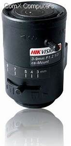 """Specification sheet: TV0309D-IR Hikvision 1/3"""" Direct ..."""