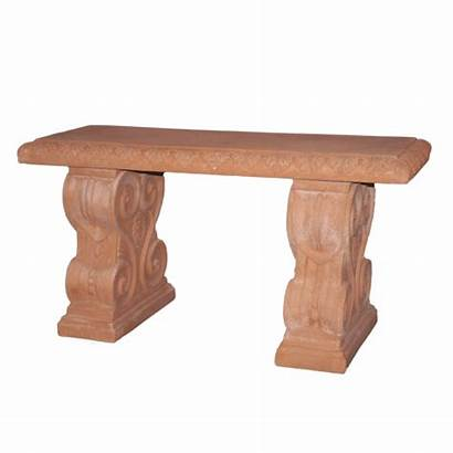 Impruneta Benches Pedestals Accessories Terracotta
