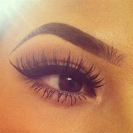 Perfect Long Eyebrows and Lashes