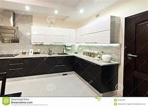 Modern Kitchen View Stock Photography - Image: 31664302