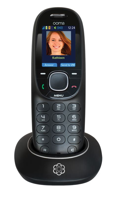 phone gets ooma s free voip calling system gets new handset