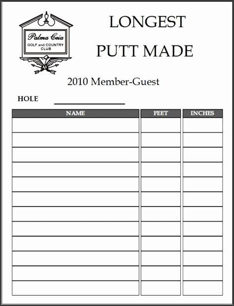 club member sign  sheet template sampletemplatess