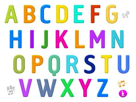 what letter of the alphabet is s our becker interactive alphabet app 73350