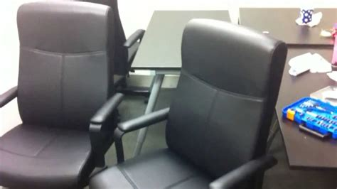 Ikea Fingal Office Chair Assembly Video In Herndon Va By