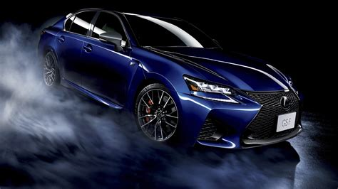 Lexus Gsf Dark Blue Car Hd Wallpaper Stylishhdwallpapers