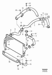 2001 Volvo S60 Turbocharger Boost Sensor  Map Sensor