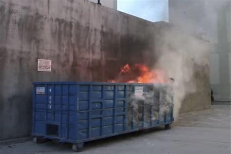 origin   internets  famous dumpster fire
