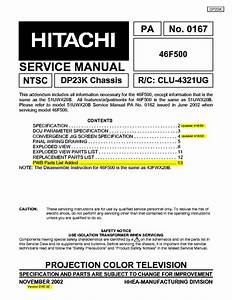Hitachi 46f500 Manual Pdf