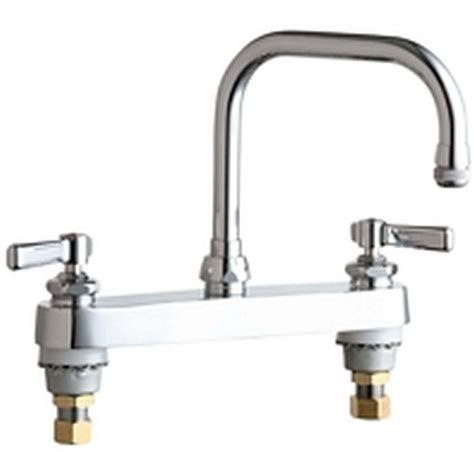 4 kitchen faucets chicago faucets 2 handle standard kitchen faucet in chrome