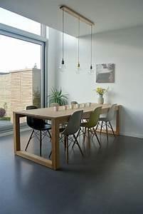 Stühle Für Holztisch : die 25 besten ideen zu eames st hle auf pinterest eames eames esszimmer und eames esszimmerstuhl ~ Markanthonyermac.com Haus und Dekorationen
