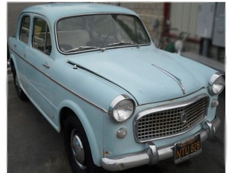 Fiat 1100 For Sale by Black Plate 1960 Fiat 1100 Special Bring A Trailer