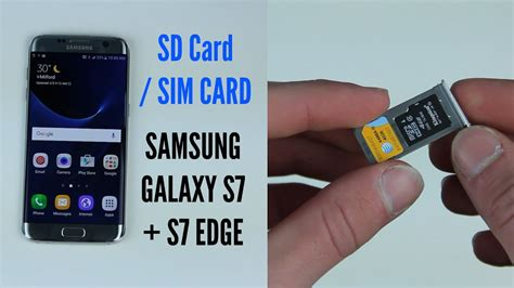 insert sd card sim card  galaxy   edge