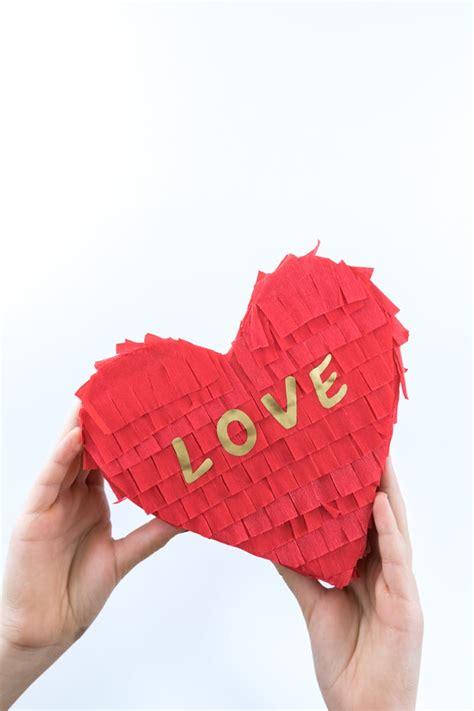 Herz Aus ästen Selber Machen by Pinata Herzen Basteln Zum Valentinstag Mrsberry Familien
