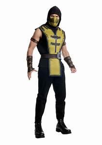Mortal Kombat X Adult Scorpion Costume