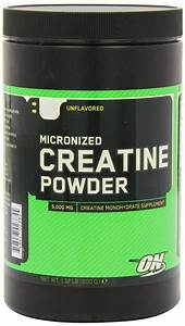 Review Optimum Nutrition Creatine Powder  Unflavored  600g