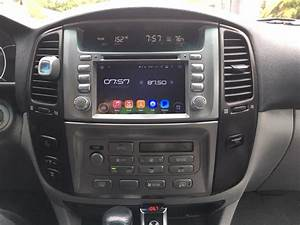 Android Os Navigation Radio Toyota Land Cruiser 100 Series