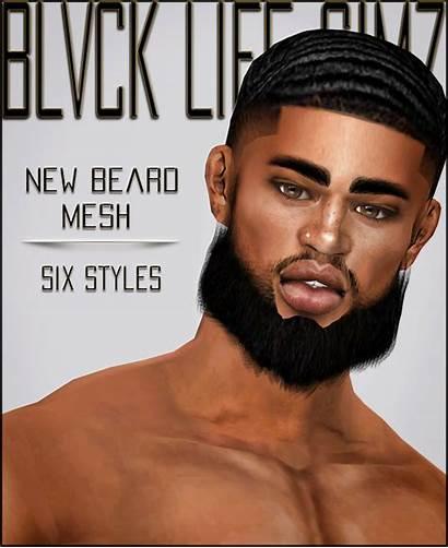 Sims Cc Beard Hair Xxblacksims Pack Urban