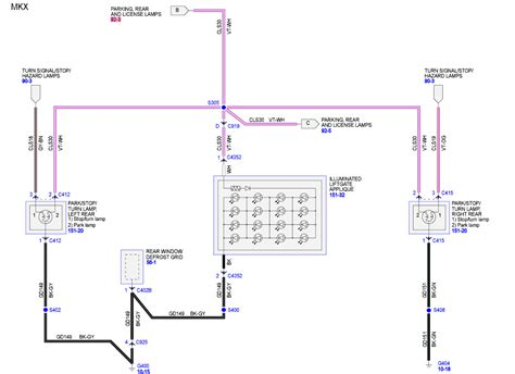Rear Light Wiring Diagram by Where Can I Find A Light Wiring Diagram For A Lincoln