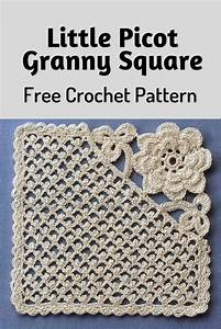 Little Picot Granny Square Is Really Unique And Amazing