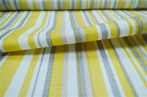yellow striped curtain material curtains fabx