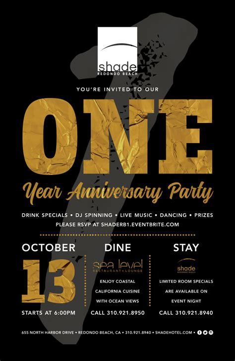 year anniversary celebration great taste