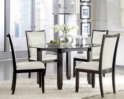 glass dining set contemporary furniture stores chicago