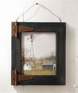 Wooden door wall decor : Old barn wood picture frames woodworking projects plans