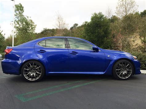 Lexus Isf Blue