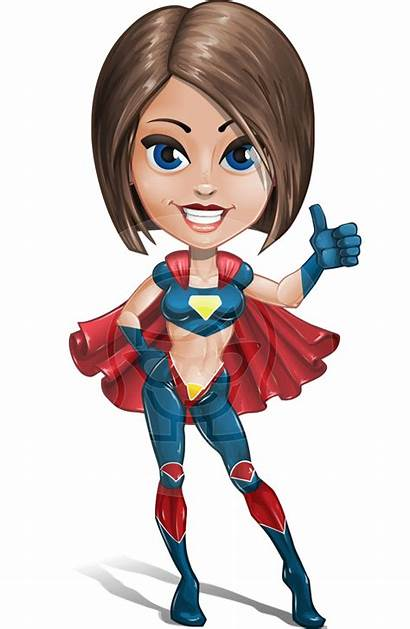 Female Superhero Characters Superheroes Clipart Character Cartoon