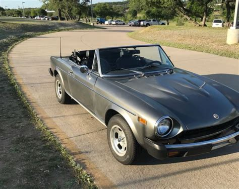 1977 Fiat 124 Spider by 1977 Fiat 124 Spider Pininfarina For Sale Photos