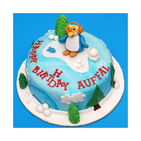 kek birthday pororo utk aufal delivery  sekyen  shah