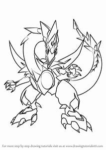 Learn How to Draw Odd-Eyes Dragon from Yu-Gi-Oh! Official ...