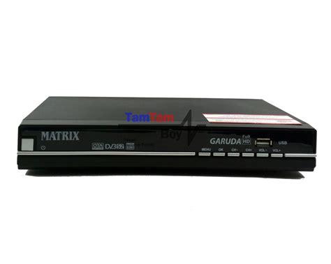 Harga Receiver Matrix Garuda jual receiver parabola matrix garuda hd mpeg4 prepaid