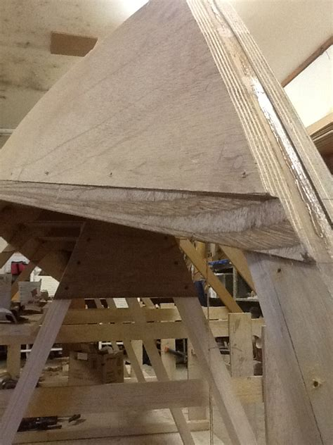 Dory Boat Mould by Dory On Mold Setup Showing 190 Marine Plywood Garboard