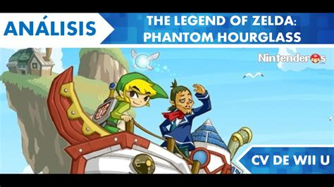 [análisis] 'the Legend Of Zelda Phantom Hourglass' (cv De Wii U)  Nintenderoscom Nintendo