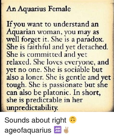 Aquarius Meme Memes Aquarius And Paradox An Aquarius If You