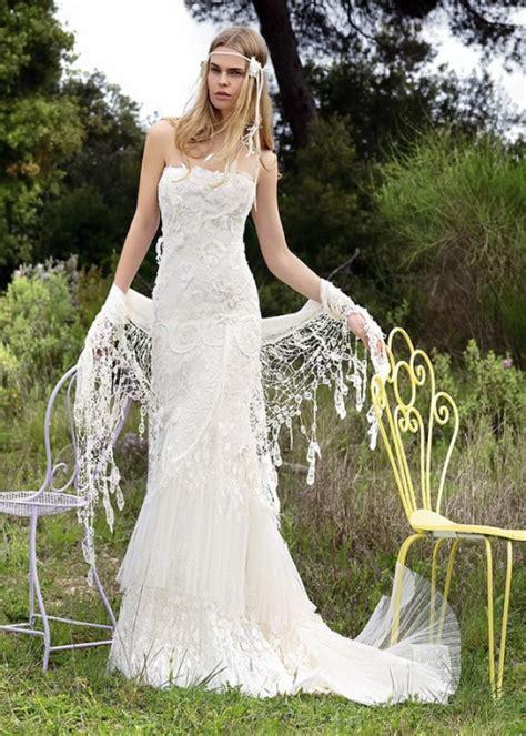 simple white dress for wedding wedding dress bohemian chic