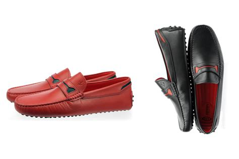 #tods #ferrari #italian #craftsmanship #collection. The New Limited Edition Ferrari Gommino by Tod's | Blog Purentonline