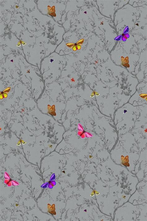 timorous beasties wallcoverings butterflies wallpaper