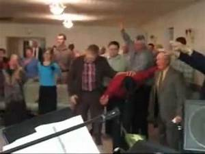 crazy church Holy Ghost Explosion - YouTube