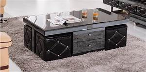 exw price wooden glass black coffee table glass tea table With glass coffee table price
