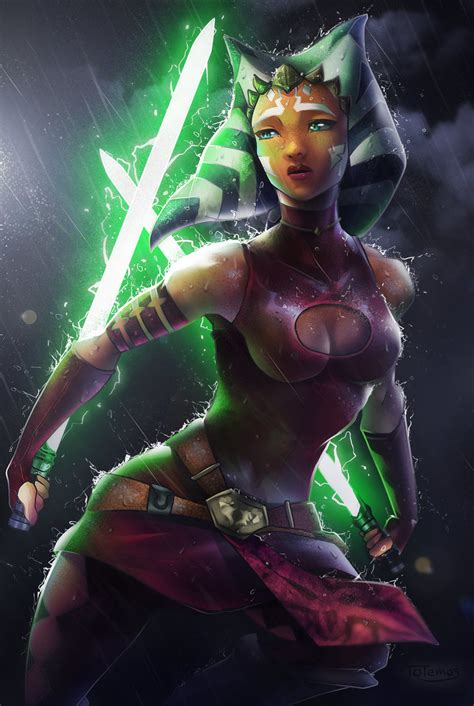 Star Wars Awesome Pictures Ahsoka Tano The Jedi Who Knew Too Much By Totemos On Deviantart