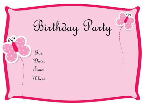 invitation party templates free birthday invitations to print drevio invitations design