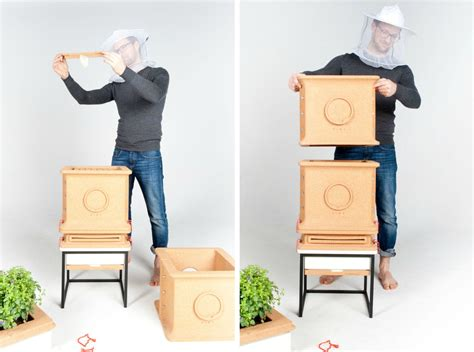This Hive Lets Urbanites Raise Bees in Style   6sqft
